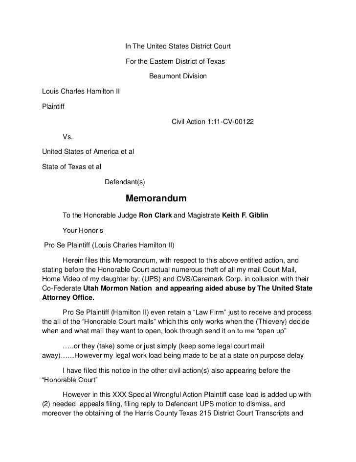 Notice of default judgement against united states of america
