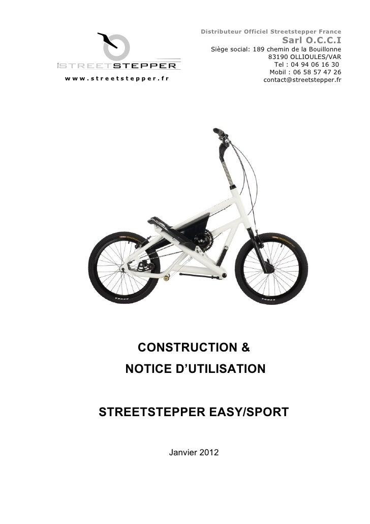 Distributeur Officiel Streetstepper France                                                       Sarl O.C.C.I             ...