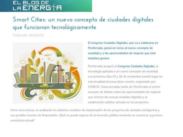 Smart Cities: un nuevo concepto de ciudades digitales que funcionan tecnológicamente