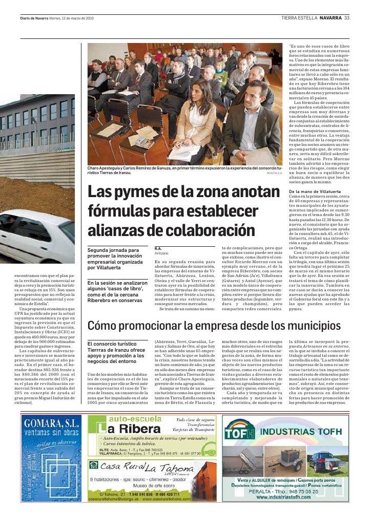Diario de Navarra Viernes, 12 de marzo de 2010                                                                            ...