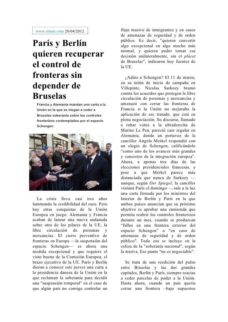www.elpais.com 20/04/2012                   flujo masivo de inmigrantes y en casos                                        ...