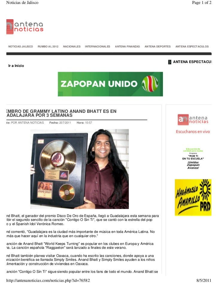 Noticias Espectaculos - People Espanol Celebrity ANAND BHATT