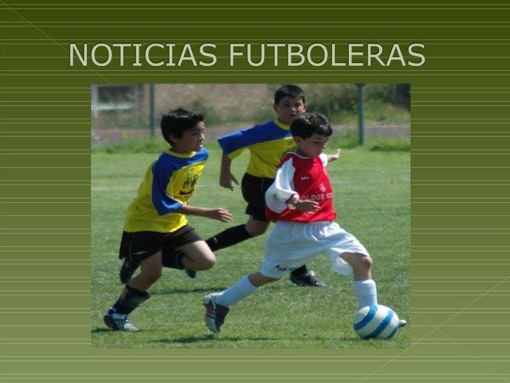 Noticias futboleras