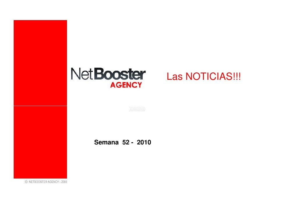 Noticias marketing online   semana 52 - 2010 - netbooster spain