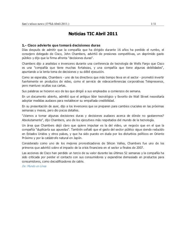 Noticias Tel abr2011