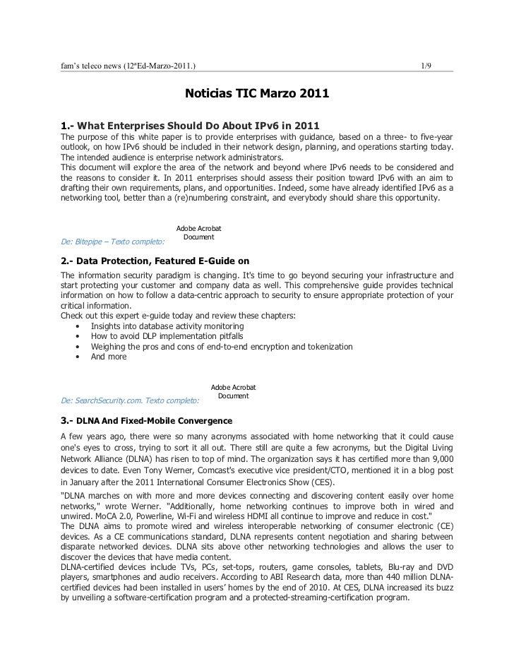 Noticias TIC mar2011