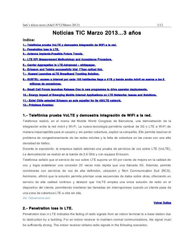 fam's teleco news (Año3-Nº12/Marzo 2013)                                                             1/12                 ...