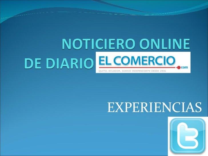 Noticiero online