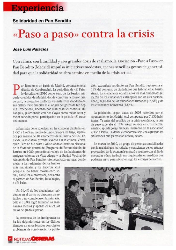 Entrevista a Paso a Paso de Noticias Obreras