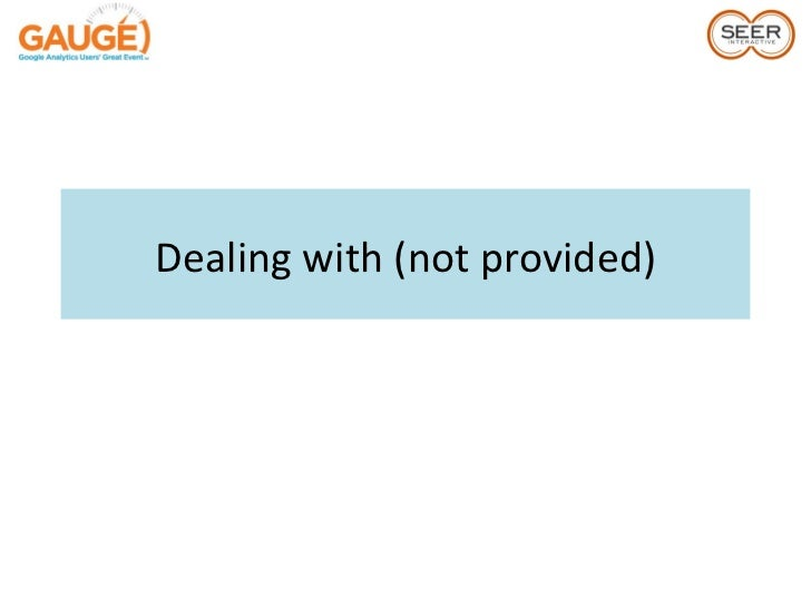 Dealing with Google's (not provided)