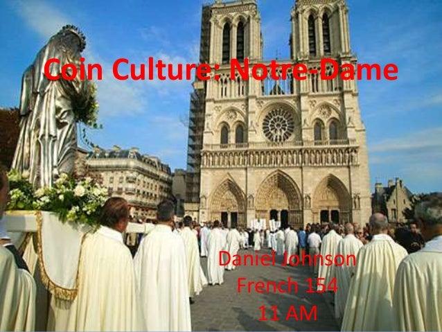 Coin Culture: Notre-Dame Daniel Johnson French 154 11 AM