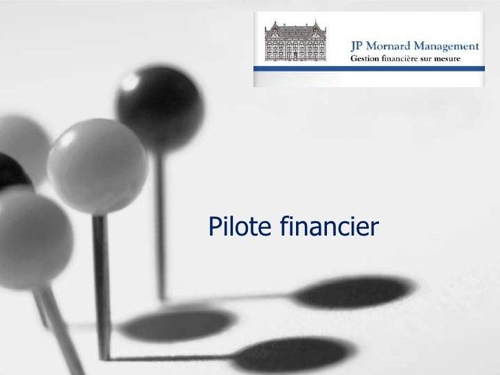 Pilote financier<br />