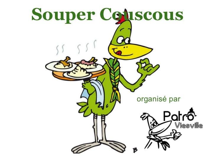 Souper Couscous organisé par