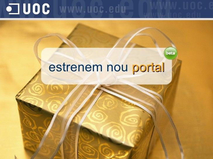 Nou Portal UOC