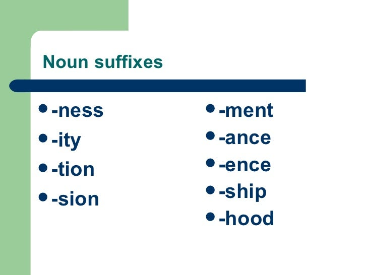Suffix Ness Related Keywords & Suggestions - Suffix Ness Long Tail ...