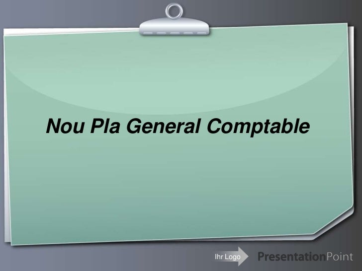 Nou Pla General Comptable<br />