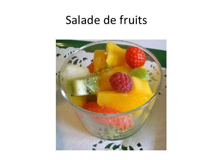 Salade de fruits<br />