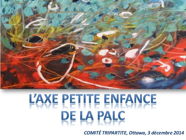 COMITÉ TRIPARTITE, Ottawa, 3 décembre 2014