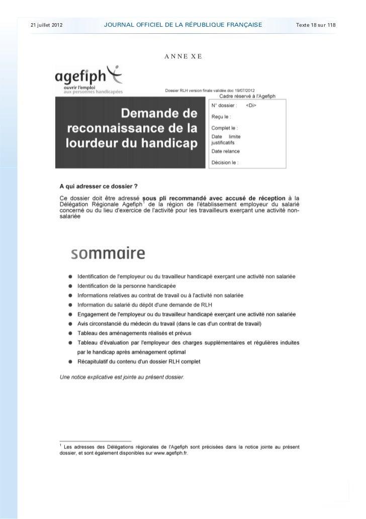 21 juillet 2012   JOURNAL OFFICIEL DE LA RÉPUBLIQUE FRANÇAISE   Texte 18 sur 118                                      ANNE...