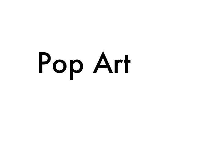 Pop Art