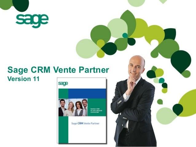 Sage CRM Vente Partner Version 11
