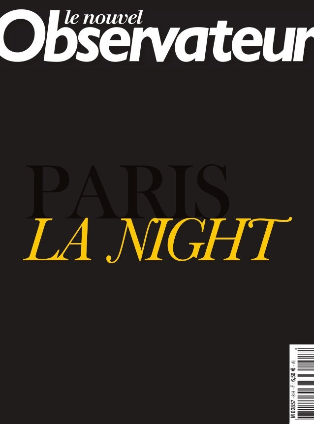 Nouvel obs   paris la night