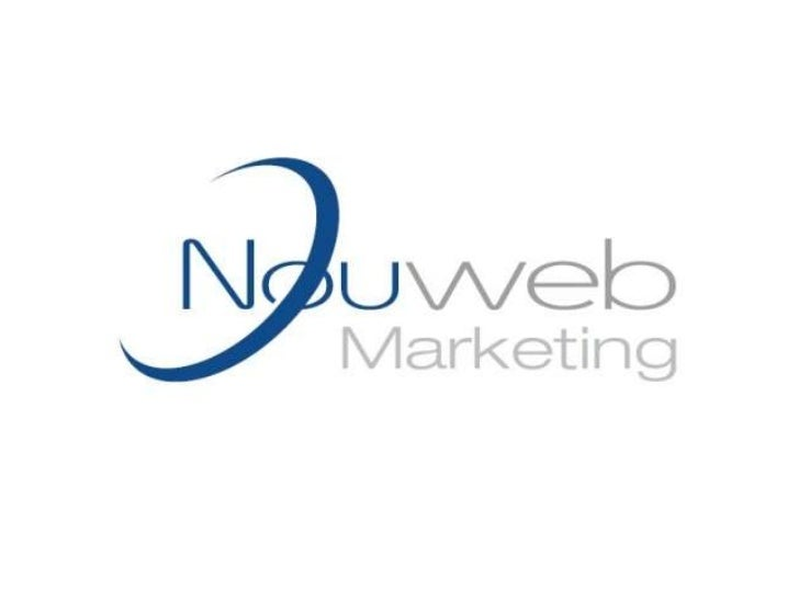 Nouweb Launch• Thank you for attending• Introducing the team  – Andy Stevens – Director and Co Founder of Nouveau Solution...