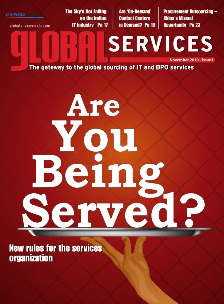 Global Services Digital Magazine November Issue