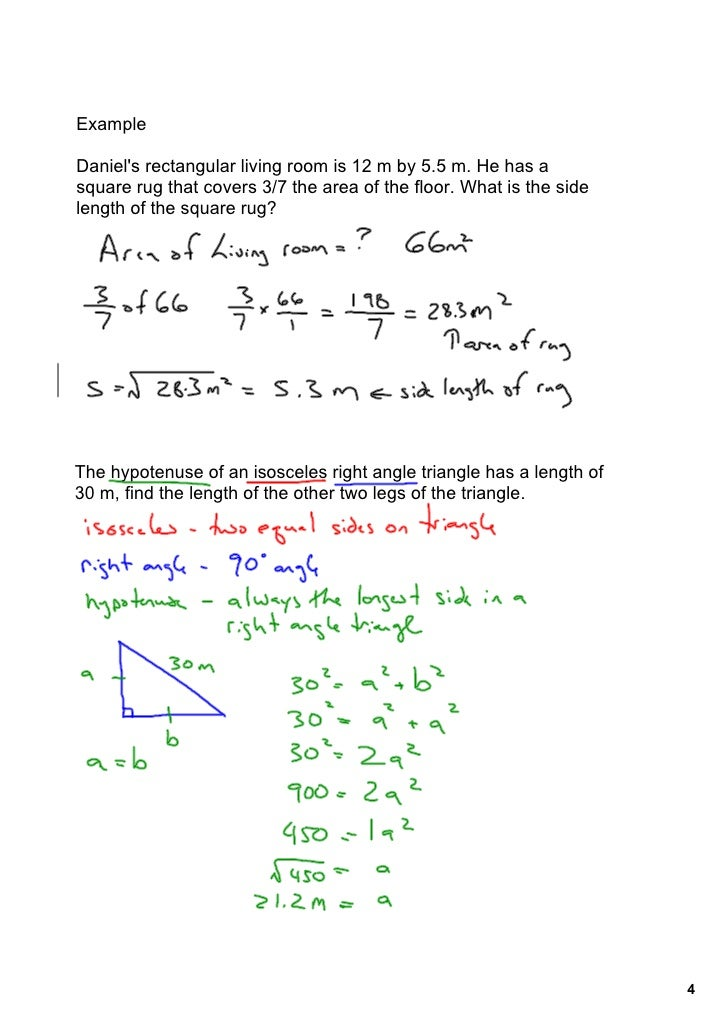 Solving square root problems