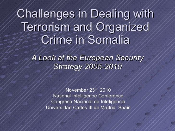 EU Security Policy in Somalia: Analysis