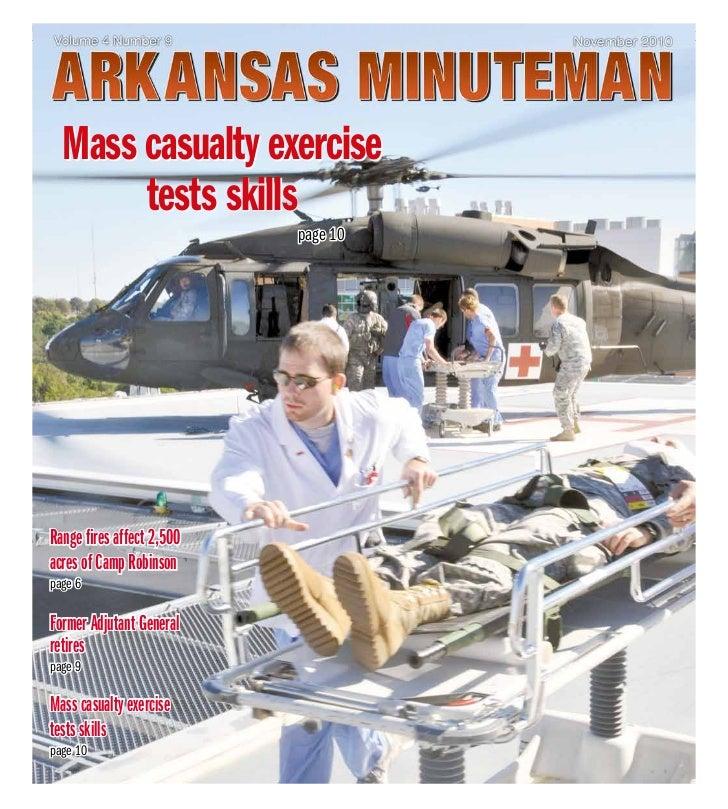 November 2010                 arkansasMInUTEMan   1     Mass casualty exercise          tests skills                      ...