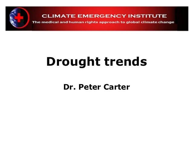 Nov 2012 global warming drought trend