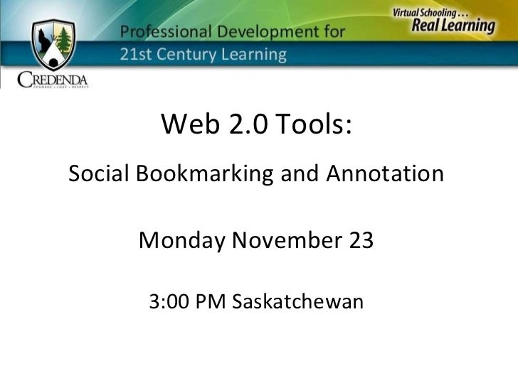Nov 23   Social Bookmarking And Annotation