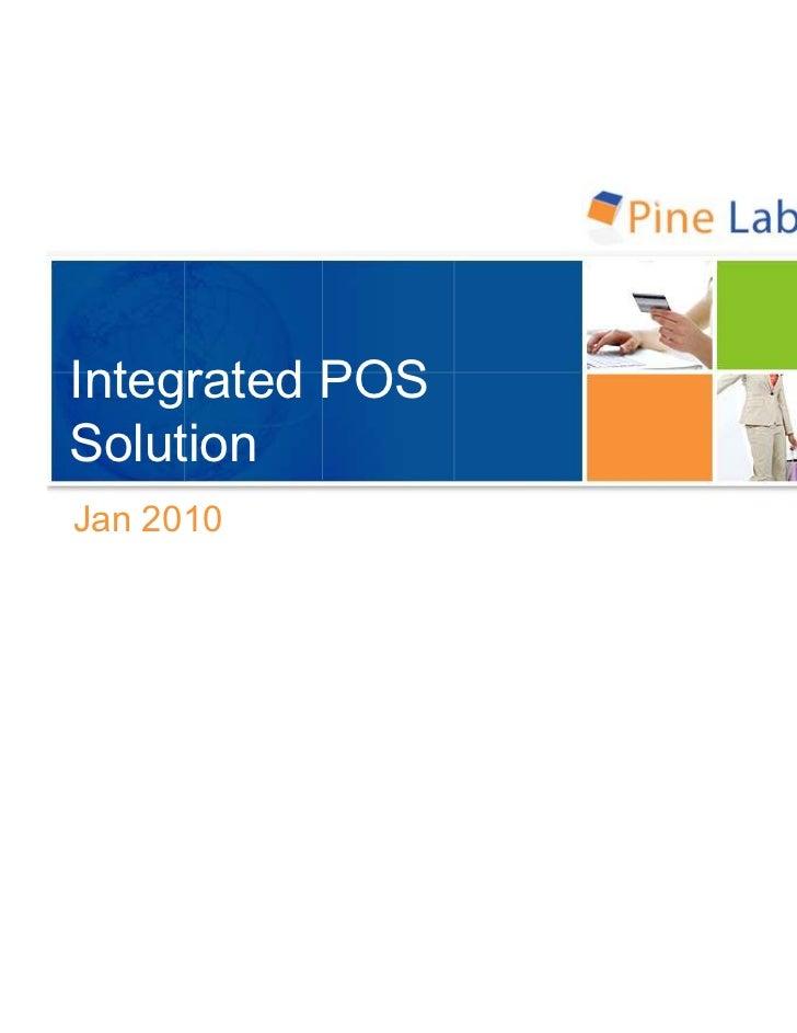 Integrated POSSolutionJan 2010
