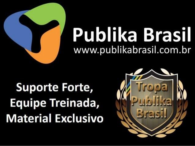 Nova apresentação Publika Brasil