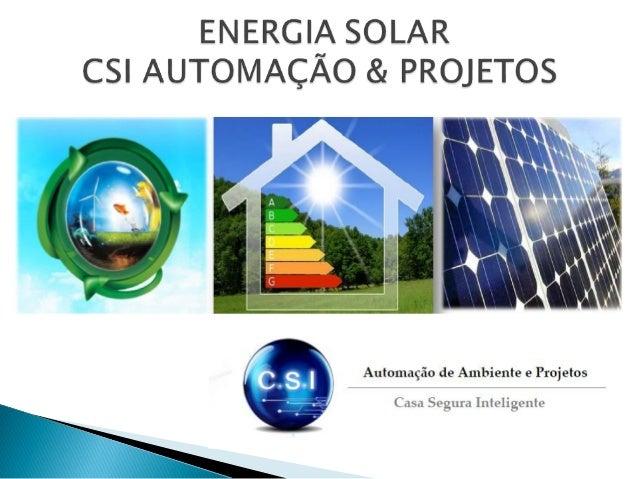  A energia solar não polui durante seu uso. A poluição decorrente da fabricação dos equipamentos necessários para a const...