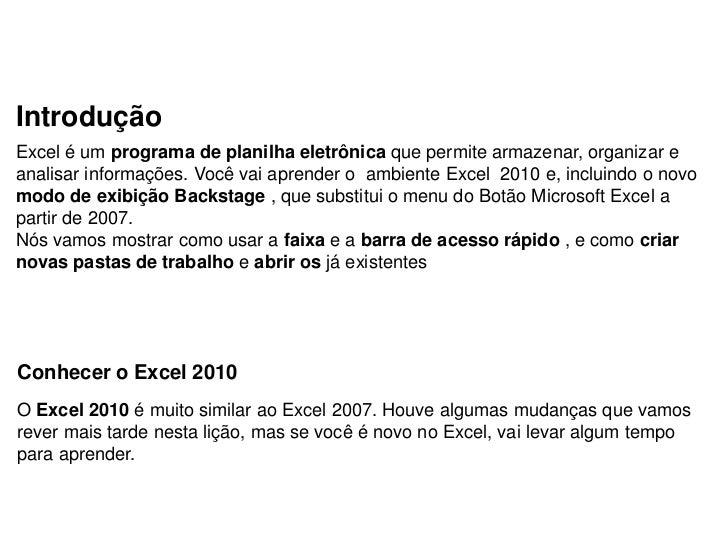 Aula de reforço Excel