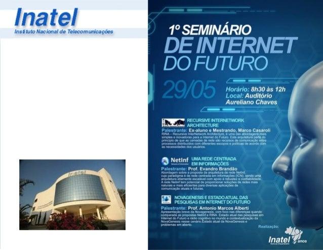 Arquitetura Convergente de Informação ! Antônio Marcos Alberti Laboratório de Tecnologias da Informação e Comunicações (IC...