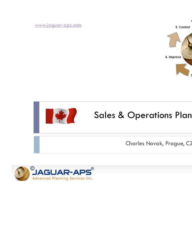 www.jaguar-aps.com                             Sales & Operations Planning                                    Charles Nova...