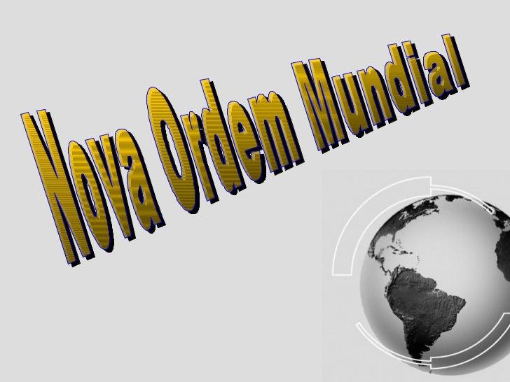 Características:Ordem mundial vigente: equilíbrio de forças entre as principais potência da época (Inglaterra, Portugal, ...