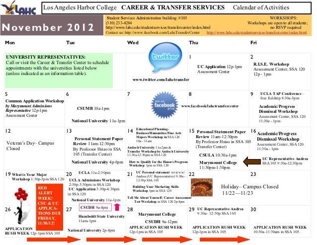 Nov dec calendar