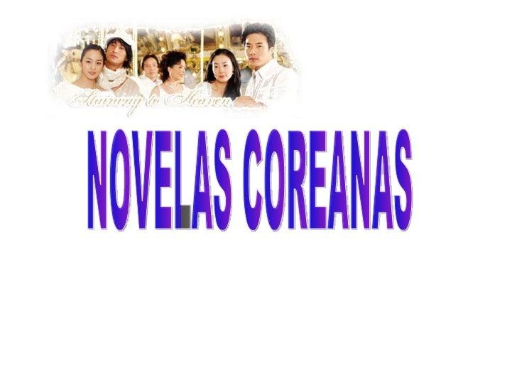NOVELAS COREANAS