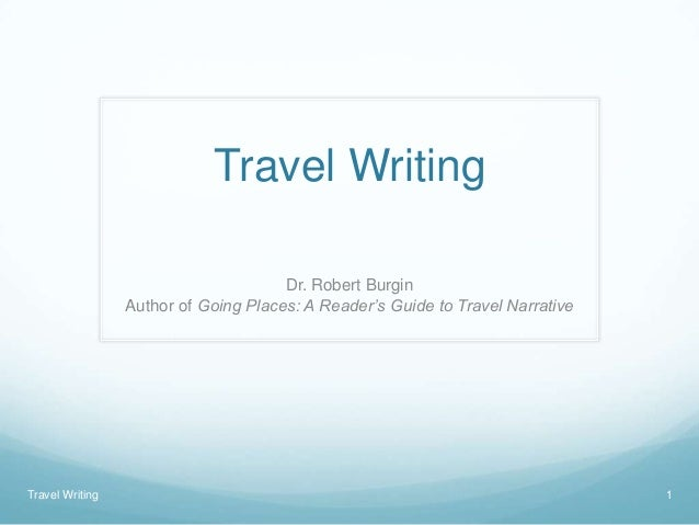 writing a travel article - tips