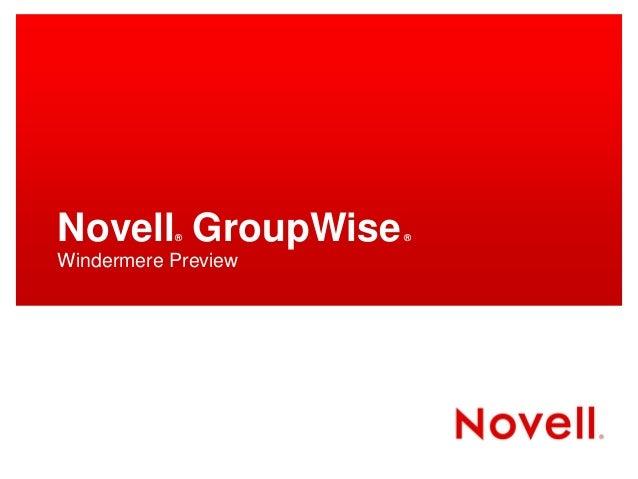 Novell   windermere images