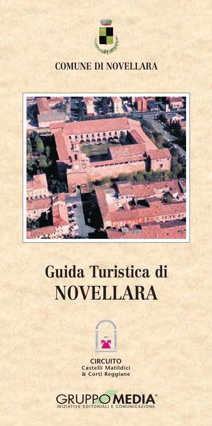 COMUNE DI NOVELLARAGuida Turistica di NOVELLARA                       CIRCUITO                 Castelli Matildici         ...