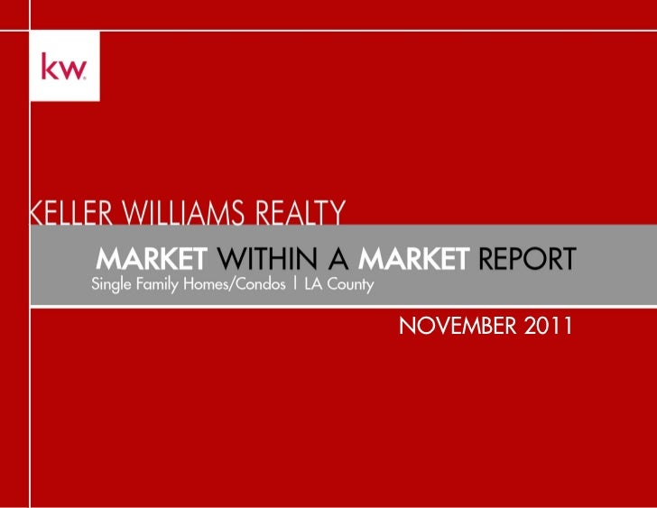 November 2011 market within a market report
