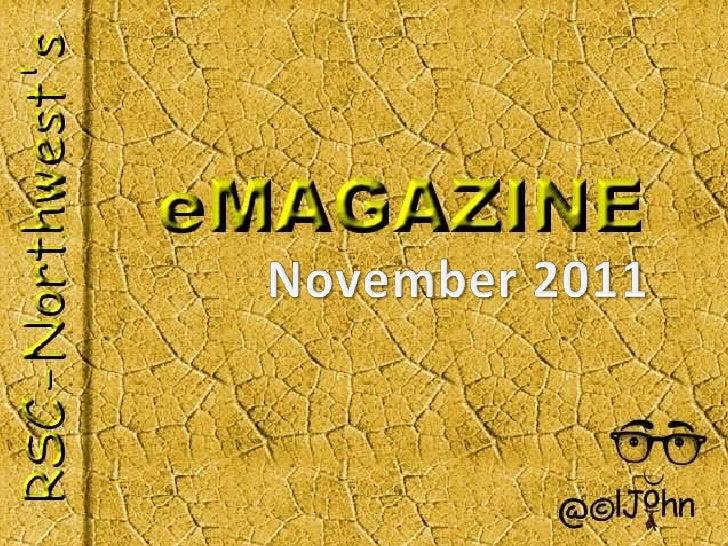 November 2011's eMagazine