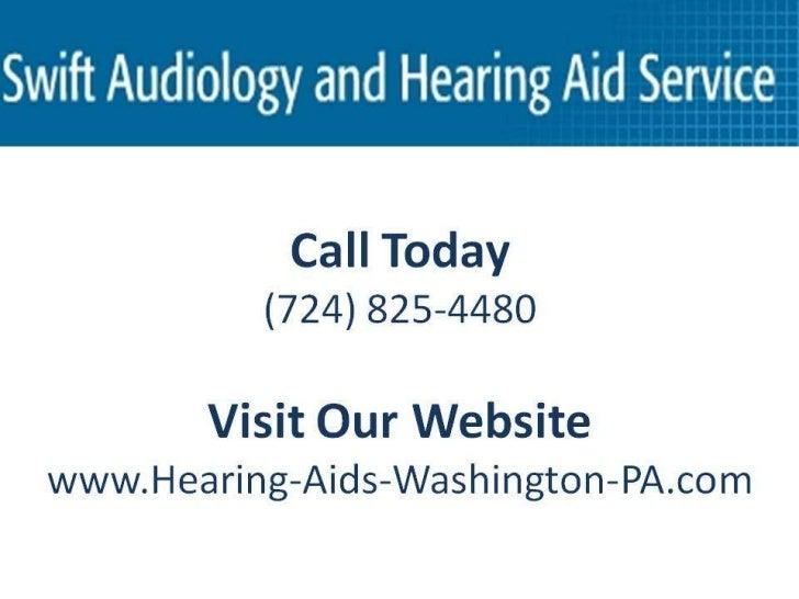 Alzheimers And Hearing Loss Washington PA