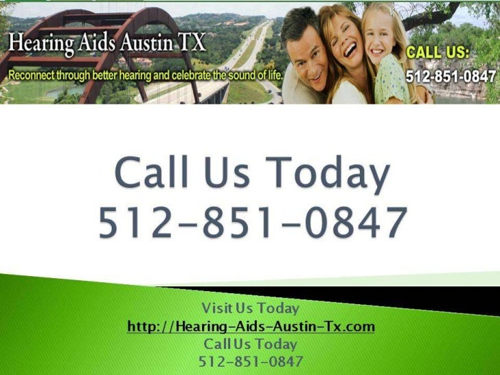 Austin Hearing ServicesWarnings on Do-it-Yourself      Hearing Care