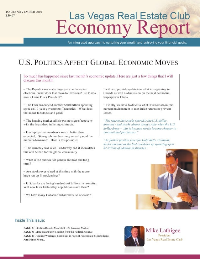 • The Republicans made huge gains in the recent elections. What does that mean to investors? Is Obama now a Lame Duck Pres...